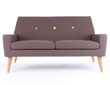 Finsbury 2 seater sofa by Assemblyroom (also available as 3 seater and armchair)